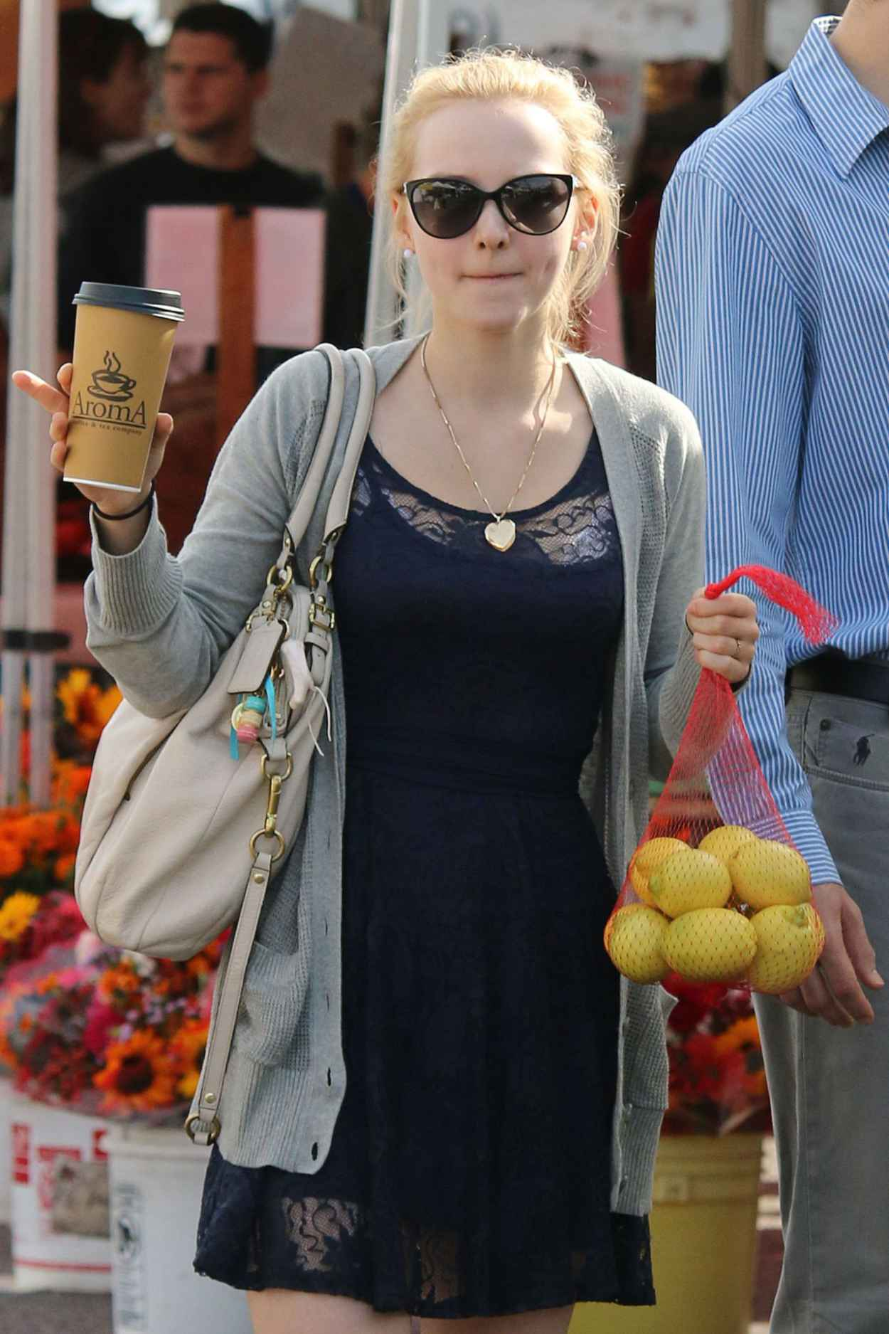 Dove Cameron - Shopping at Farmers Market in Los Angeles - December 2015-1