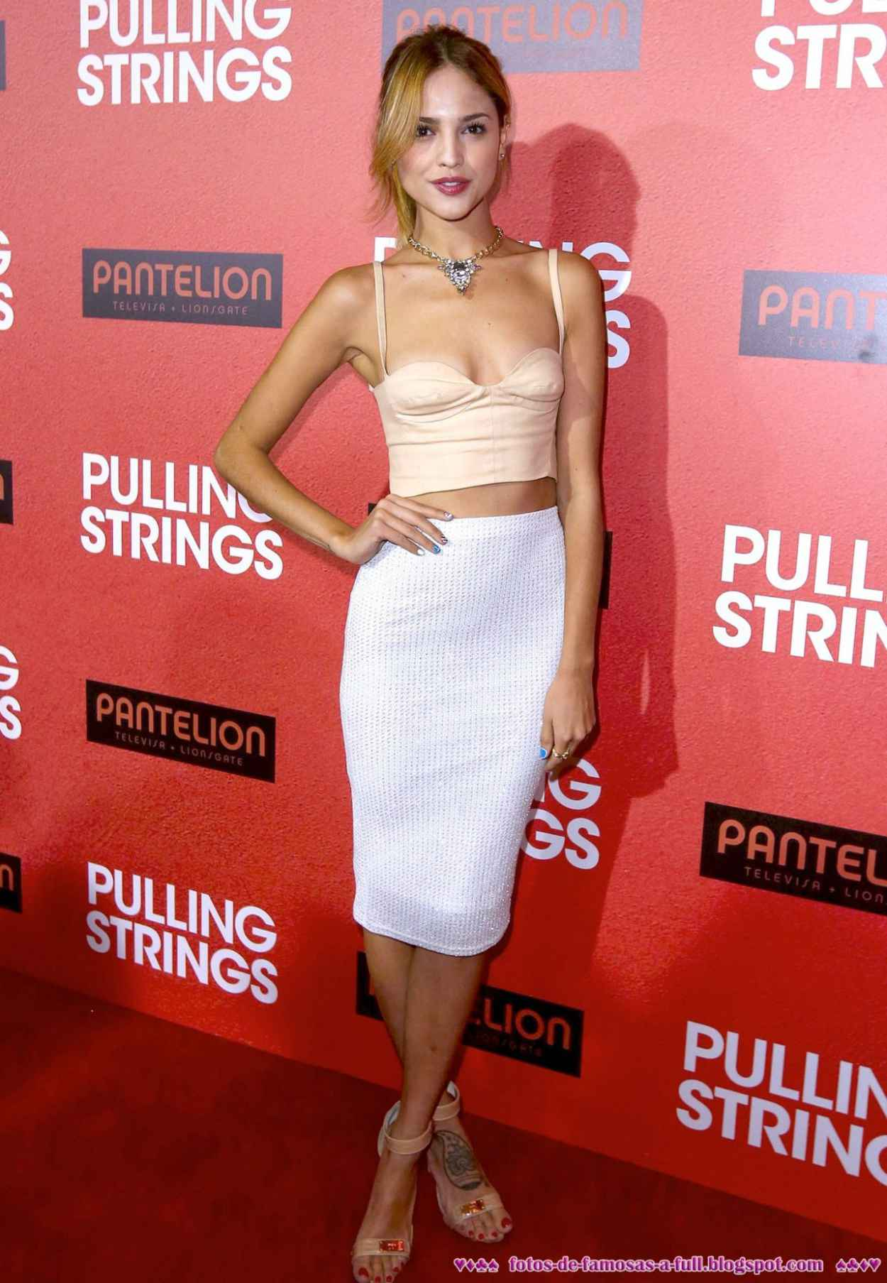 Eiza Gonzalez on Red Carpet - PULLING STRINGS Premiere in Los Angeles-1