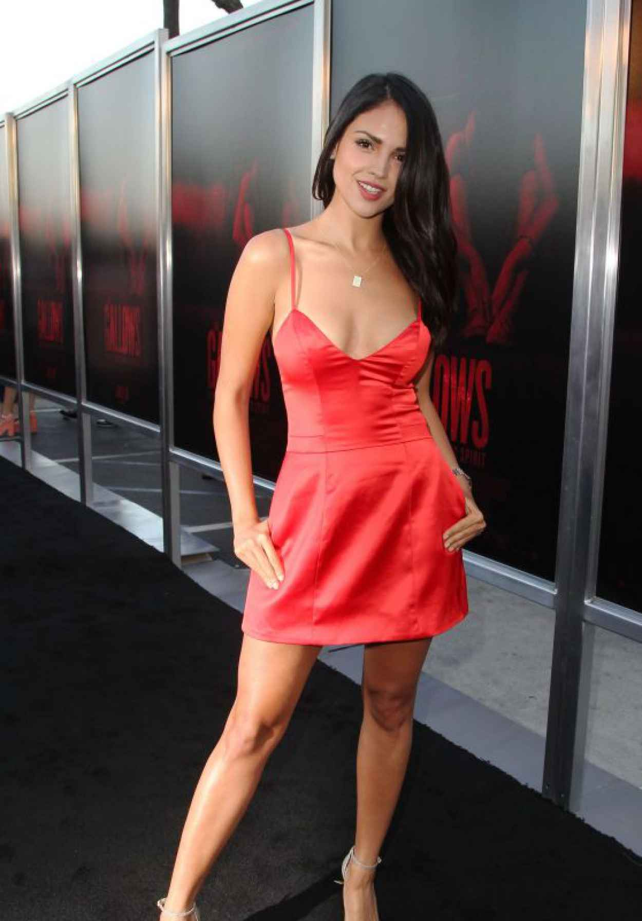 Eiza Gonzalez - The Gallows Premiere in Los Angeles-1