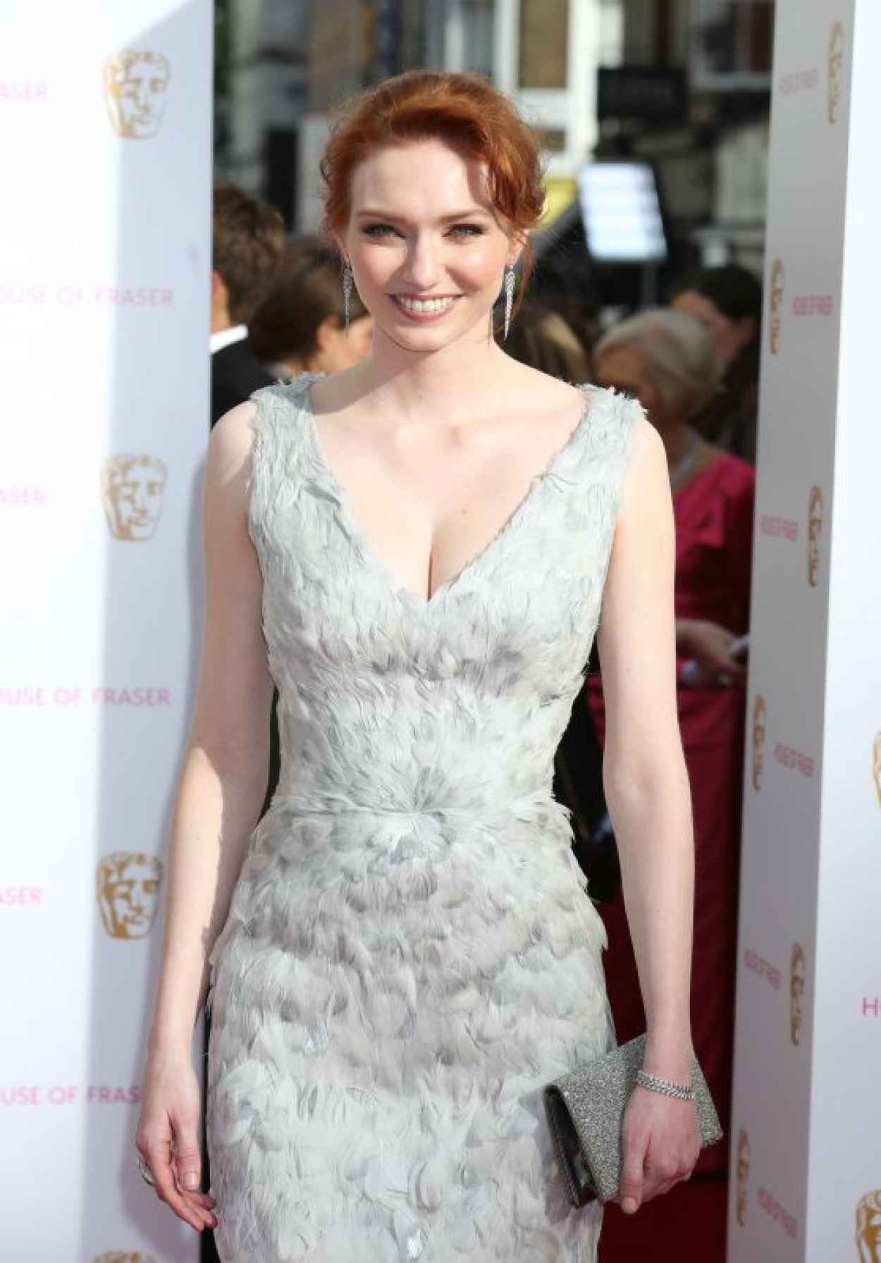 Eleanor Tomlinson - 2015 BAFTA Awards in London-1