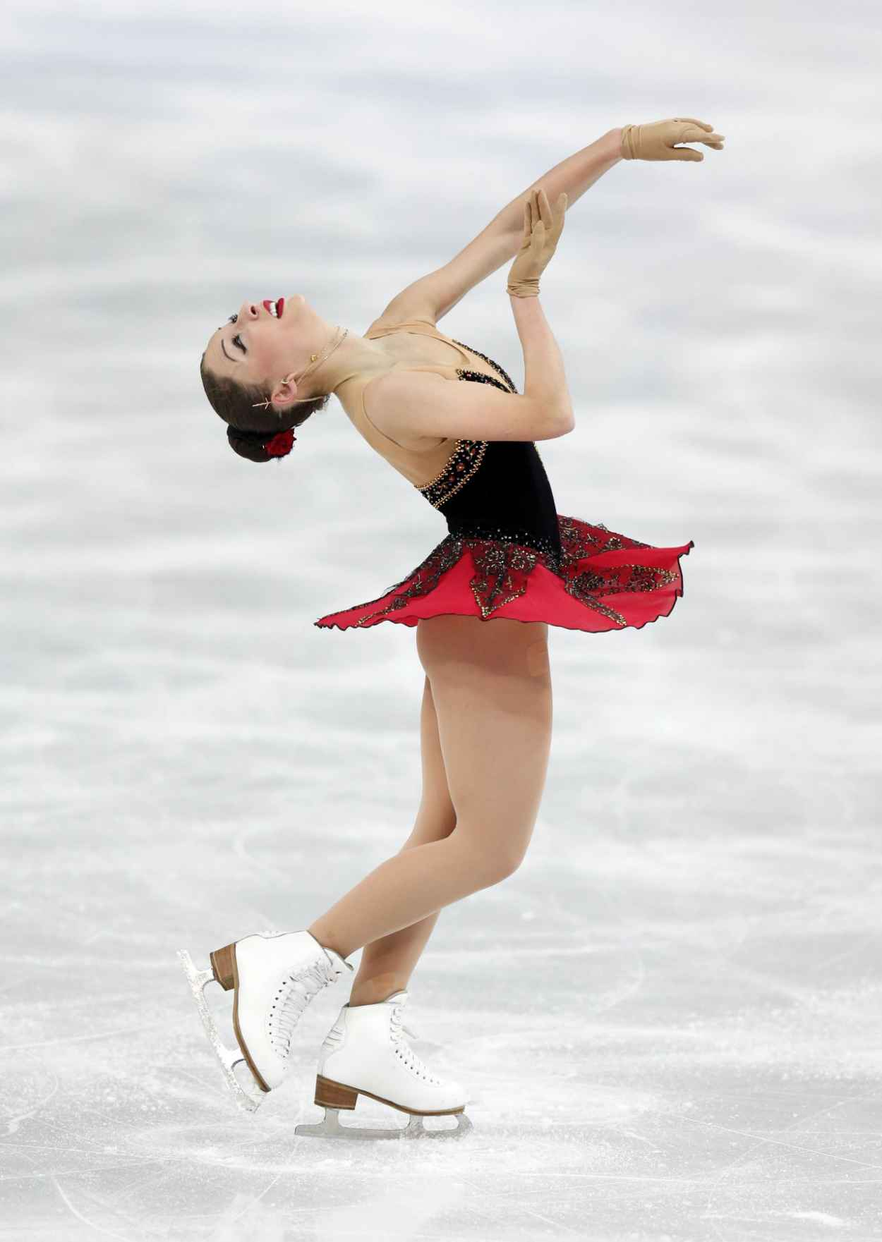 Elene Gedevanishvili - Women-s Figure Skating Free Program - 2015 Sochi Winter Olympics-1