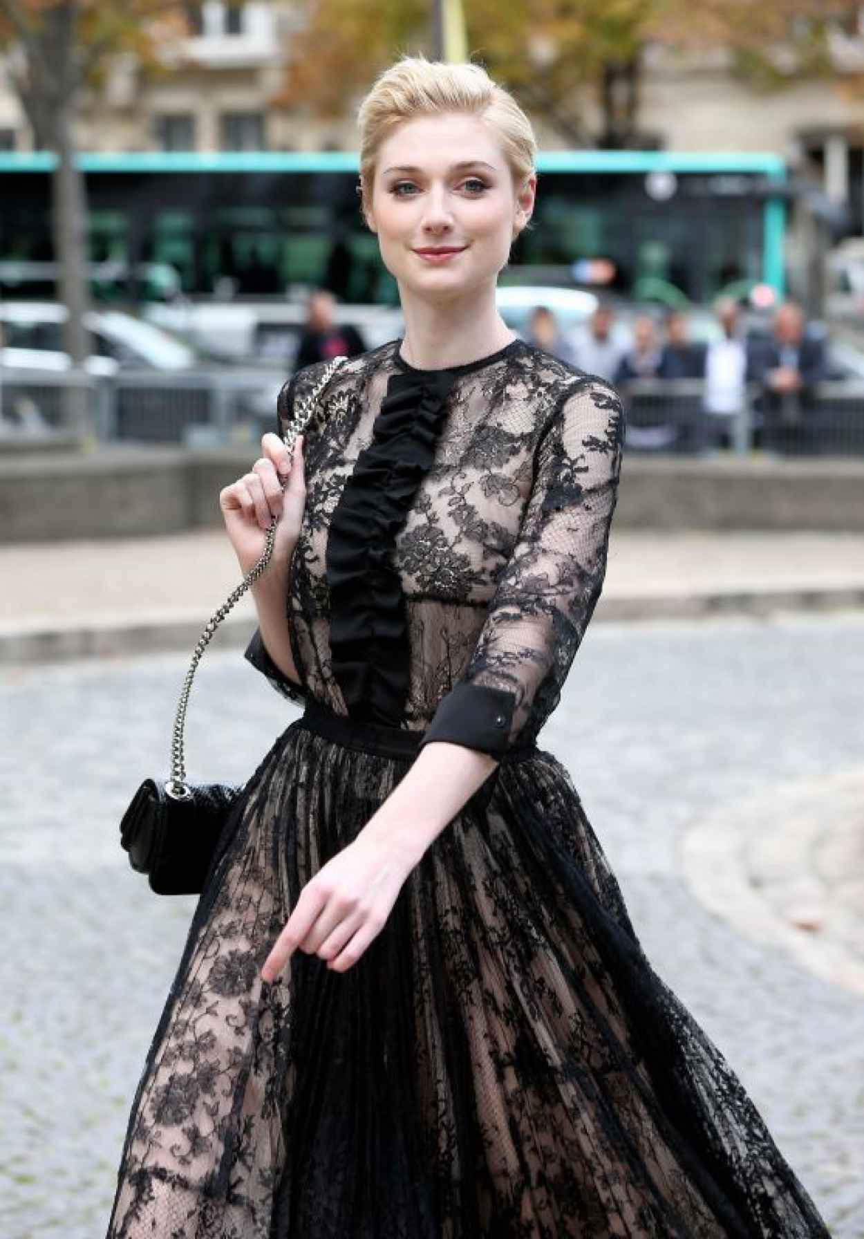 Elizabeth Debicki - Miu Miu Show in Paris, October 2015-1