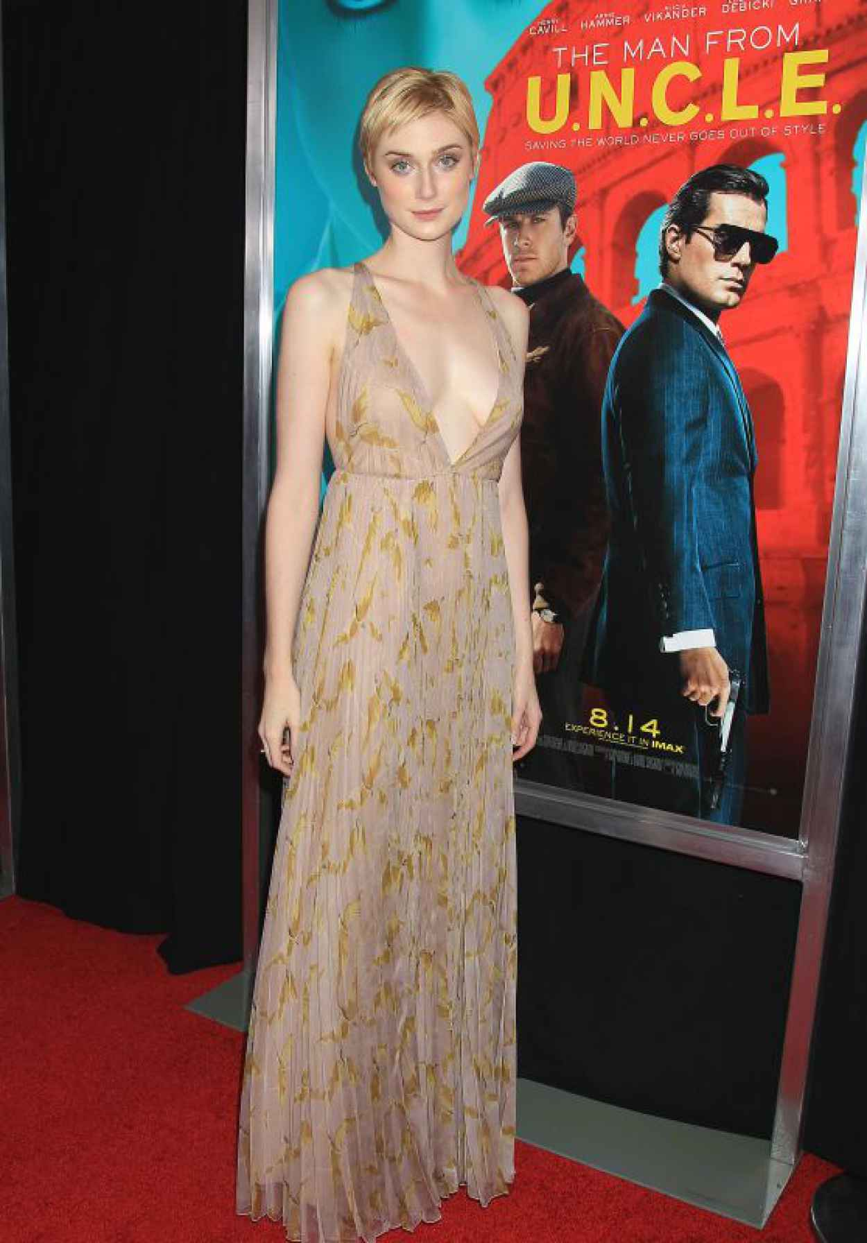 Elizabeth Debicki - The Man From U.N.C.L.E. Premiere in New York City-1