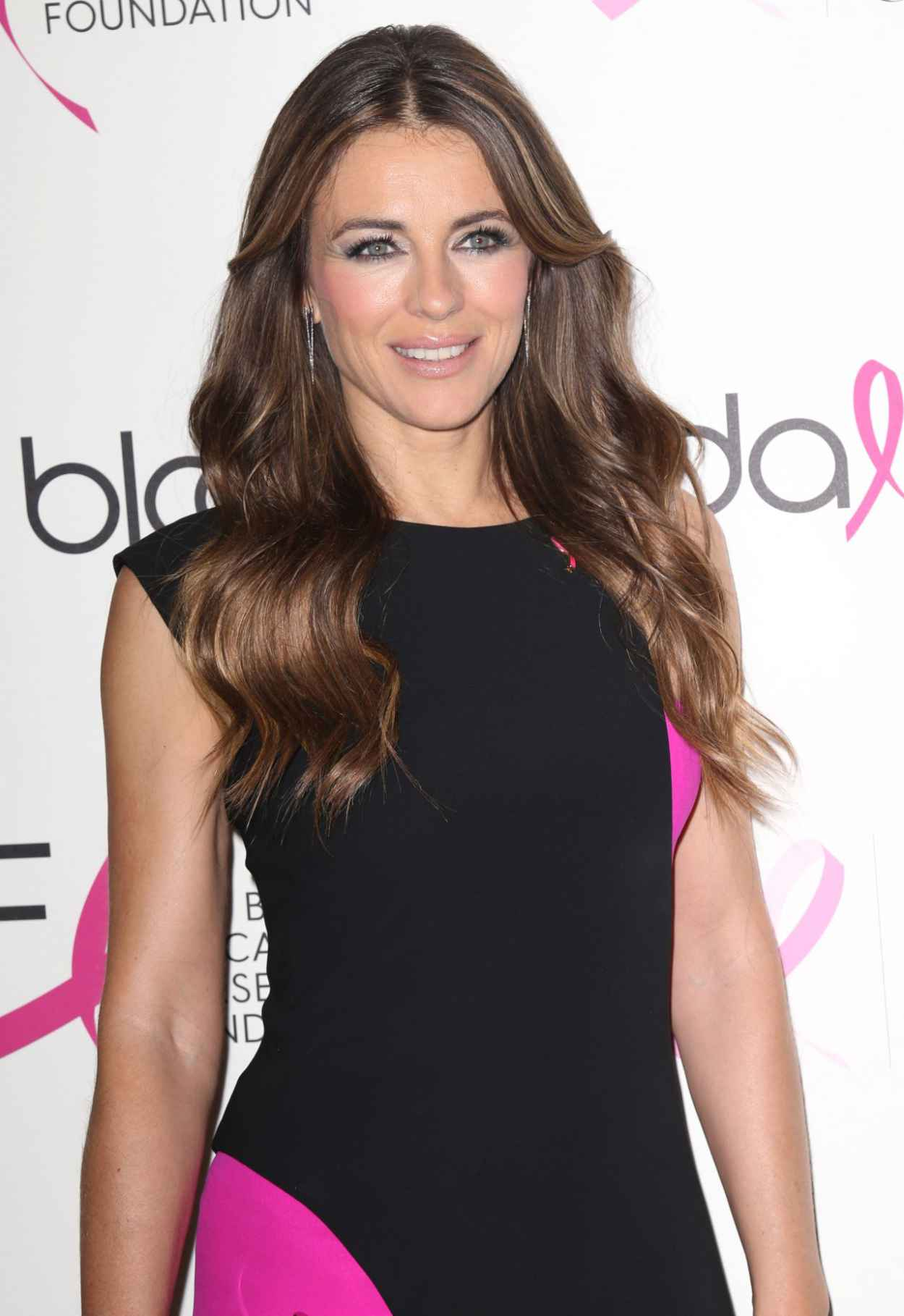 Elizabeth Hurley - Breast Cancer Research Foundation Pink Party in New York City-1