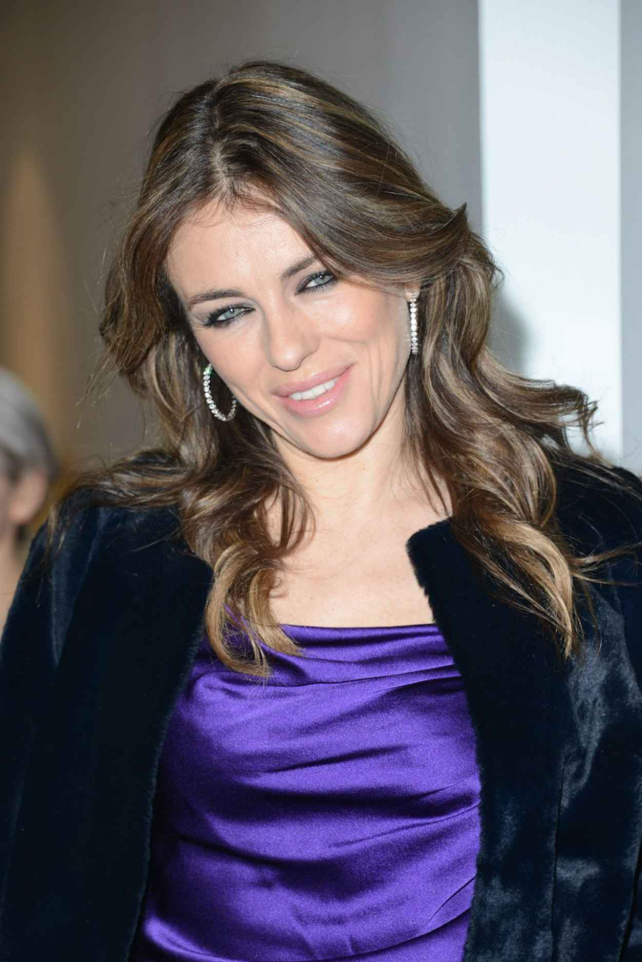 Elizabeth Hurley - Launch of Amanda Wakeley Flagship Store in London - January 2015-1
