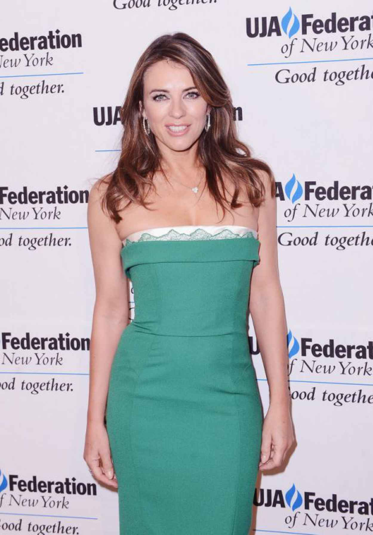 Elizabeth Hurley - The UJA-Federation of NYs Entertainment Division Signature Gala, June 2015-1