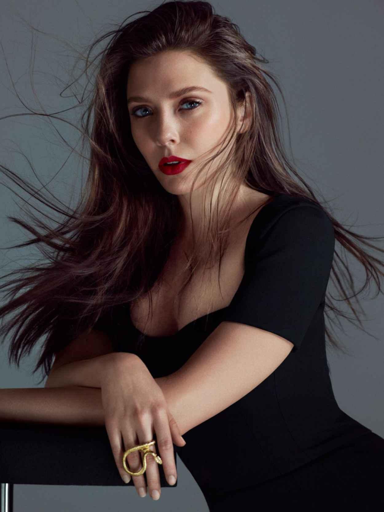 Elizabeth Olsen - 2015 Flaunt magazine May 2015 Issue-1
