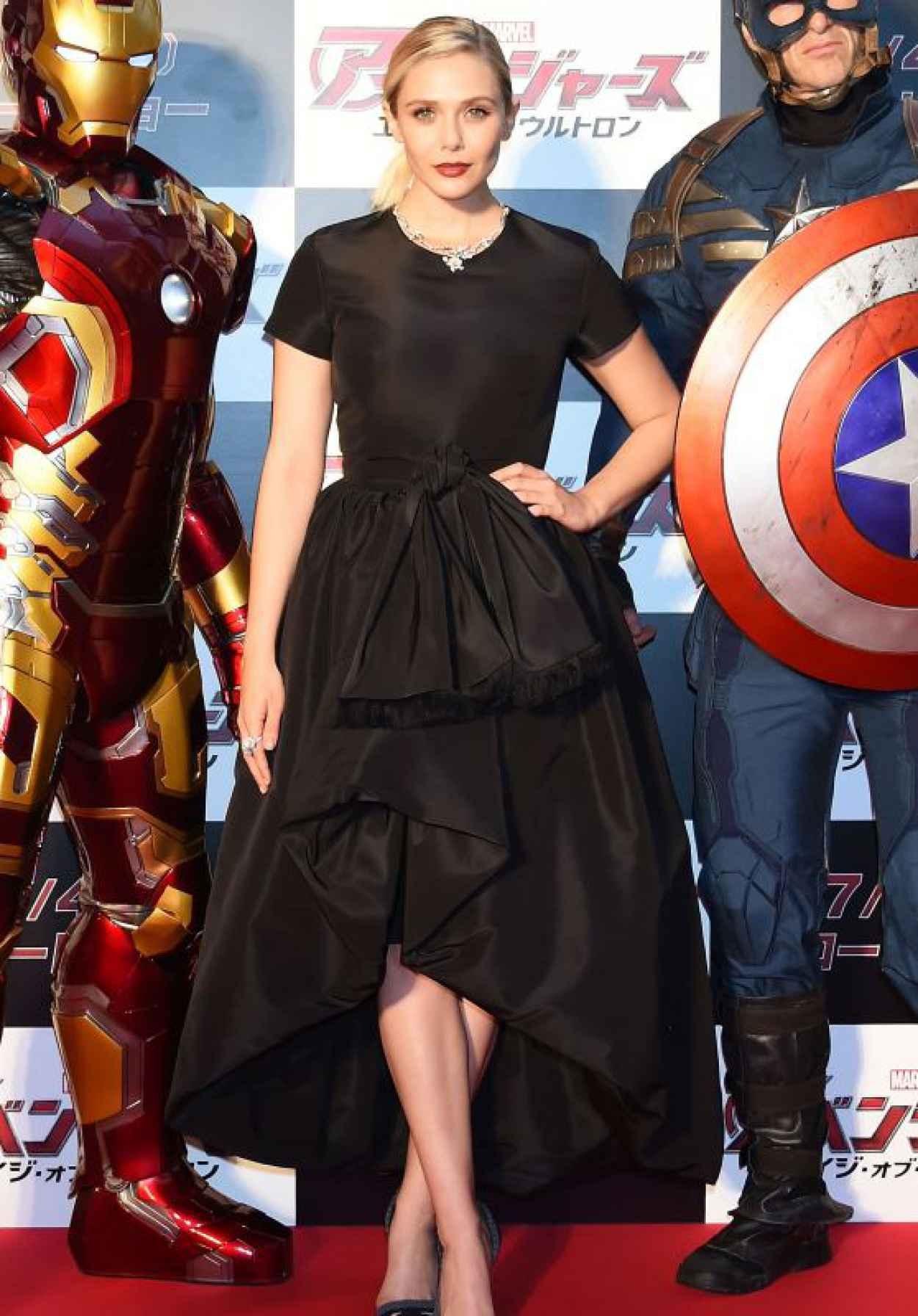 Elizabeth Olsen - Avengers: Age of Ultron Premiere in Tokyo-1