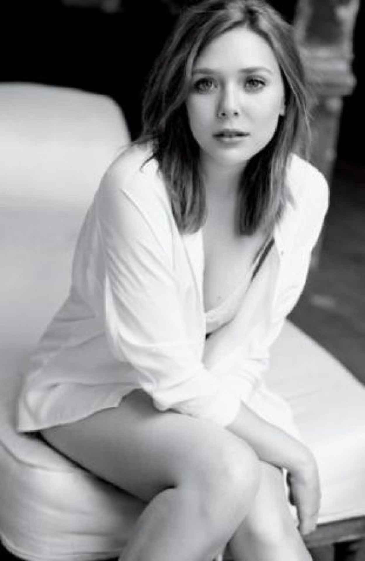 Elizabeth Olsen - Matt Jones Photoshoot for GQ Magazine (2014)-1