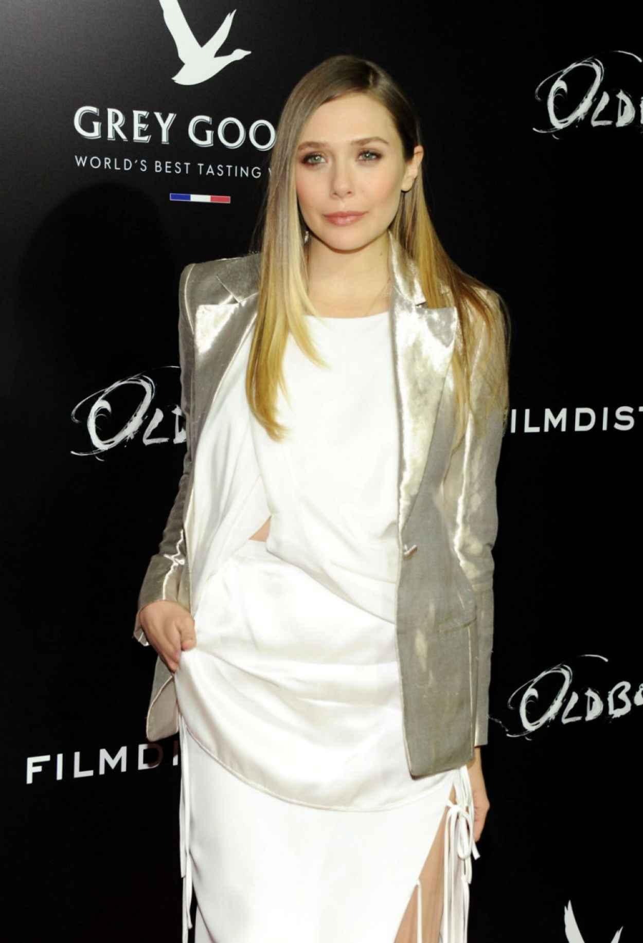 Elizabeth Olsen Red Carpet Photos - OLDBOY Movie Screening in New York-1