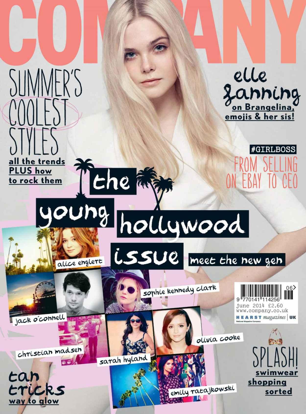 Elle Fanning - Company Magazine (UK) June 2015 Cover-1