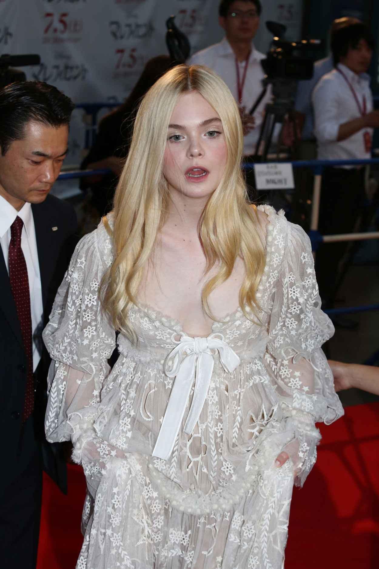 Elle Fanning - Maleficent Premiere in Tokyo-1