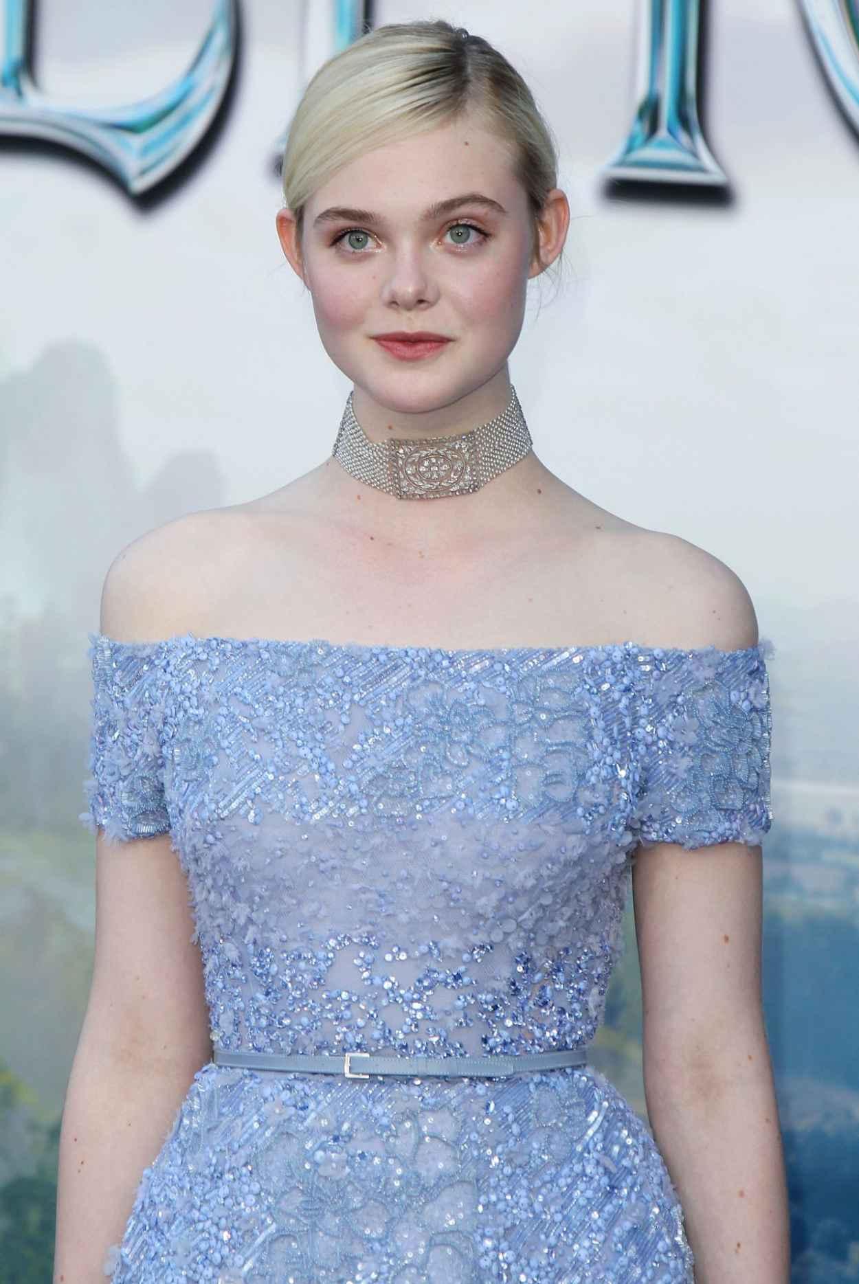 Elle Fanning - -Maleficent- World Premiere in Los Angeles-1