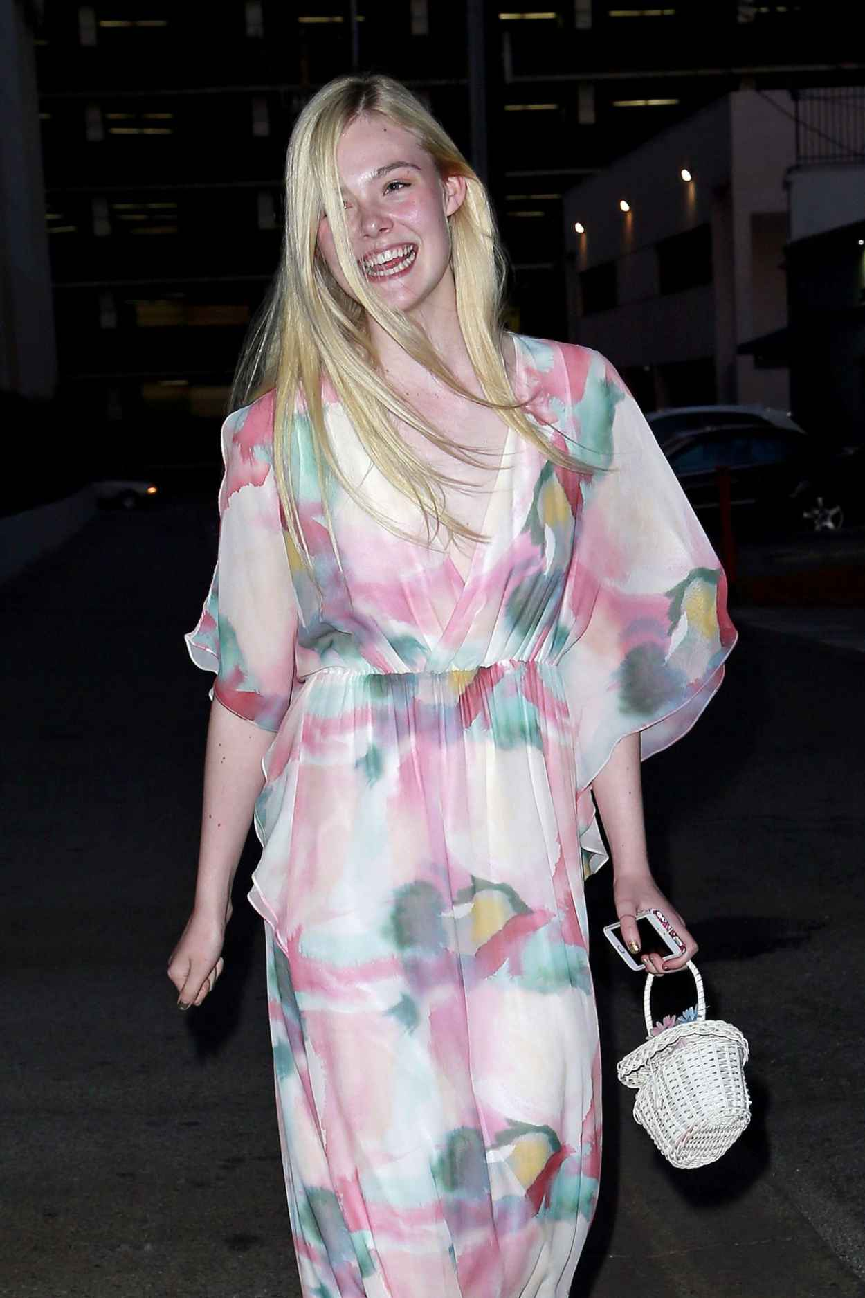 Elle Fanning Night Out Style - Beverly Hills, April 2015-1