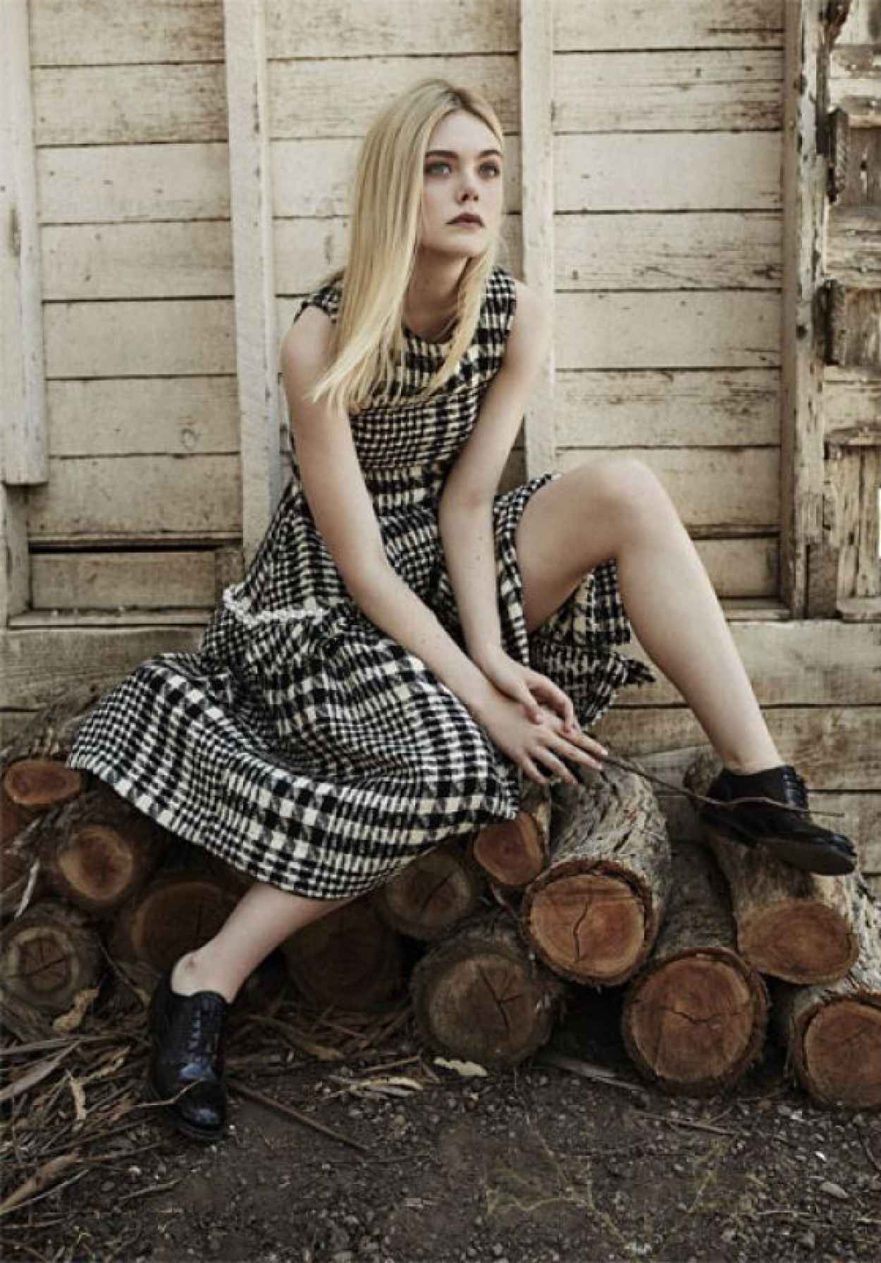 Elle Fanning - The Edit Magazine September 2015-1