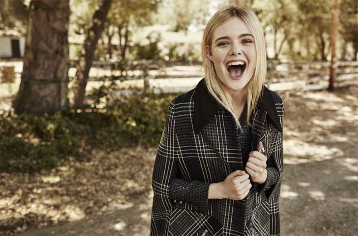 Elle Fanning - The Edit Magazine September 2015-2