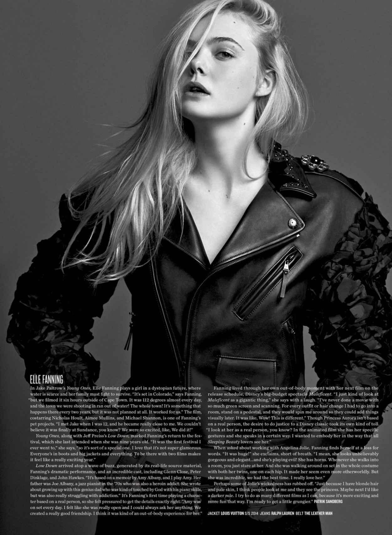 Elle Fanning - V Magazine June 2015 Issue-1