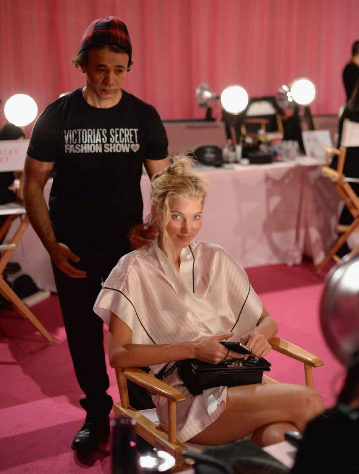 Elsa Hosk - Backstage Victoria-s Secret Fashion Show in New York City-1