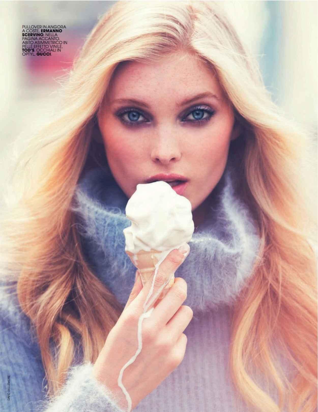 Elsa Hosk - Marie Claire Magazine (Italy) - September 2015 Issue-1