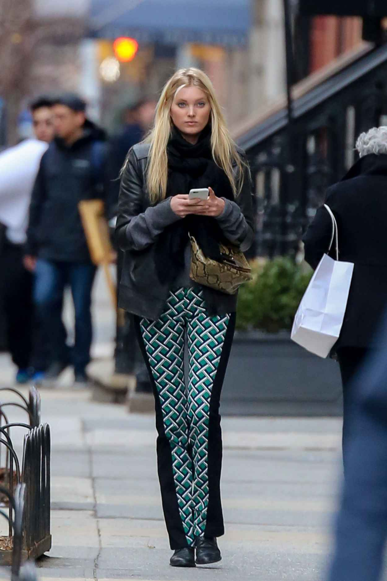 Elsa Hosk - Out in New York City, March 2015-1