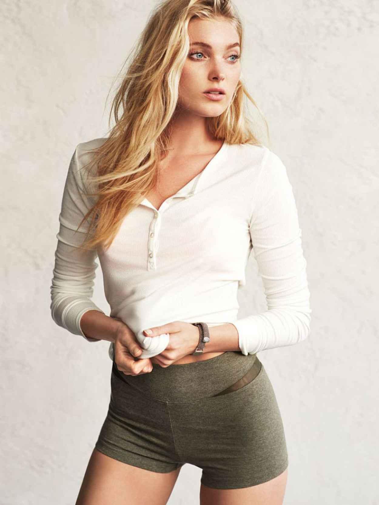 Elsa Hosk Photoshoot - Victorias Secret - December 2015-1