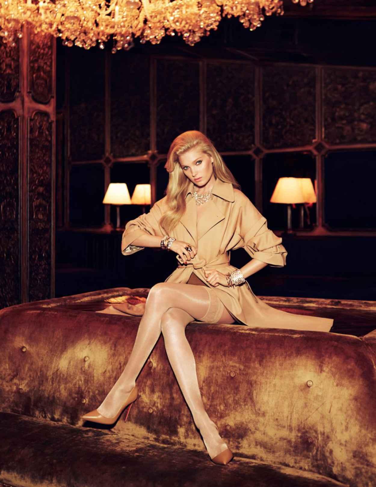 Elsa Hosk - Vogue Magazine (Mexico) - September 2015 Issue-1