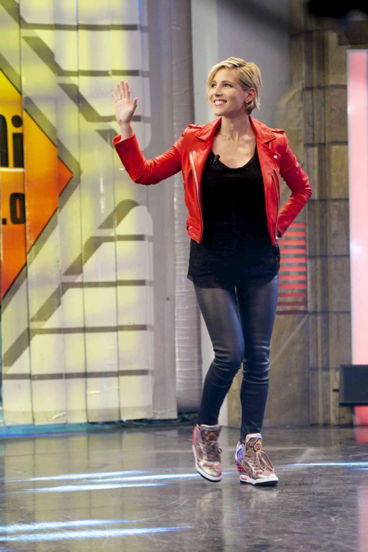 Elsa Pataky - El Hormiguero Tv Show in Madrid (Spain)-2