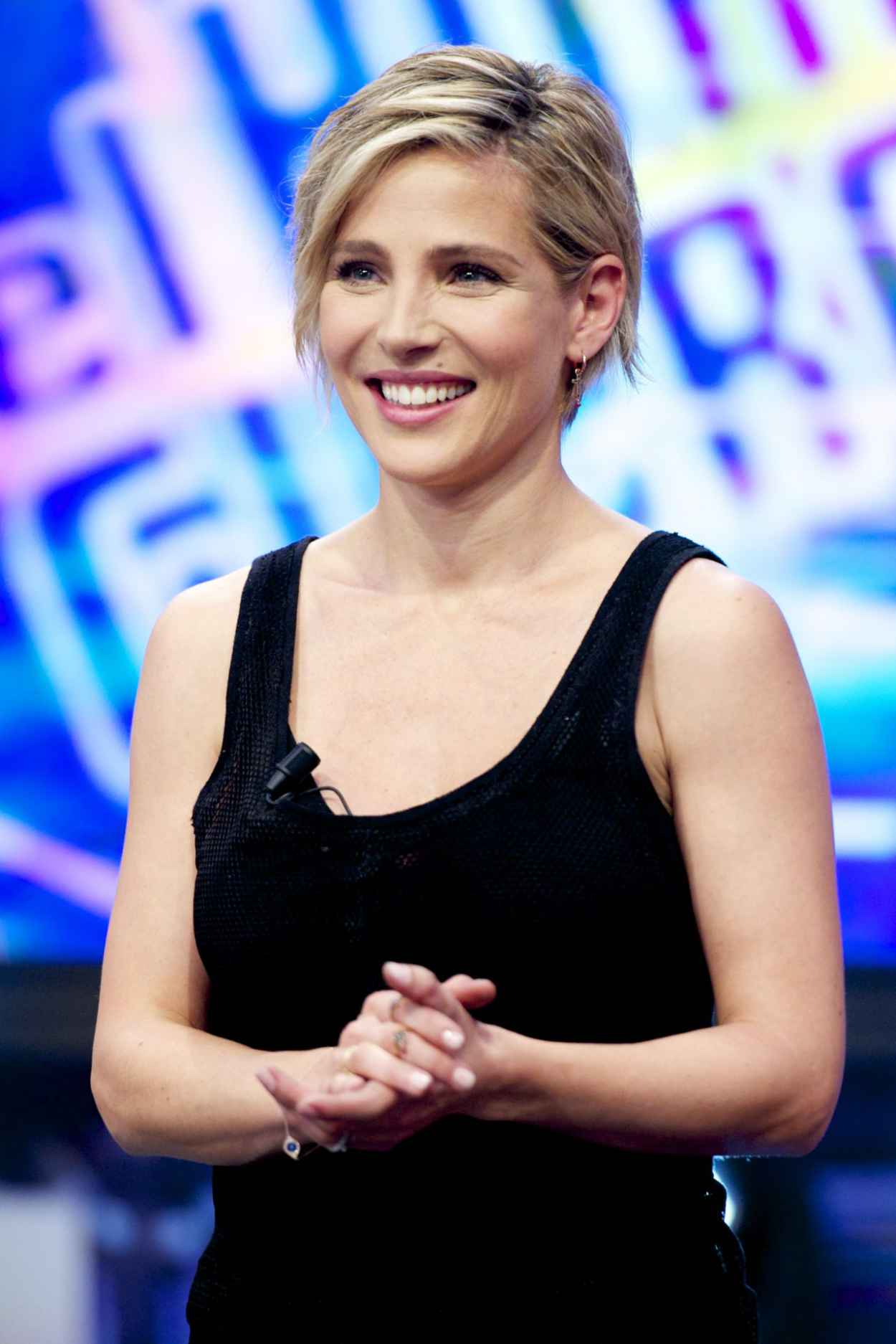 Elsa Pataky - El Hormiguero Tv Show in Madrid (Spain)-1