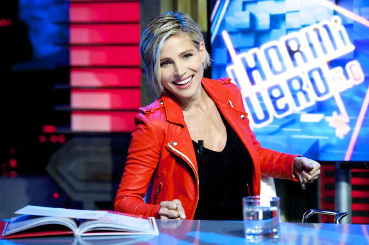 Elsa Pataky - El Hormiguero Tv Show in Madrid (Spain)-3