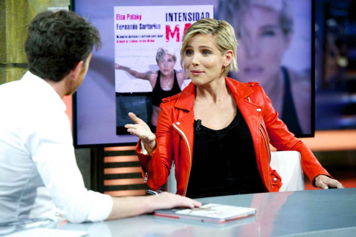 Elsa Pataky - El Hormiguero Tv Show in Madrid (Spain)-4