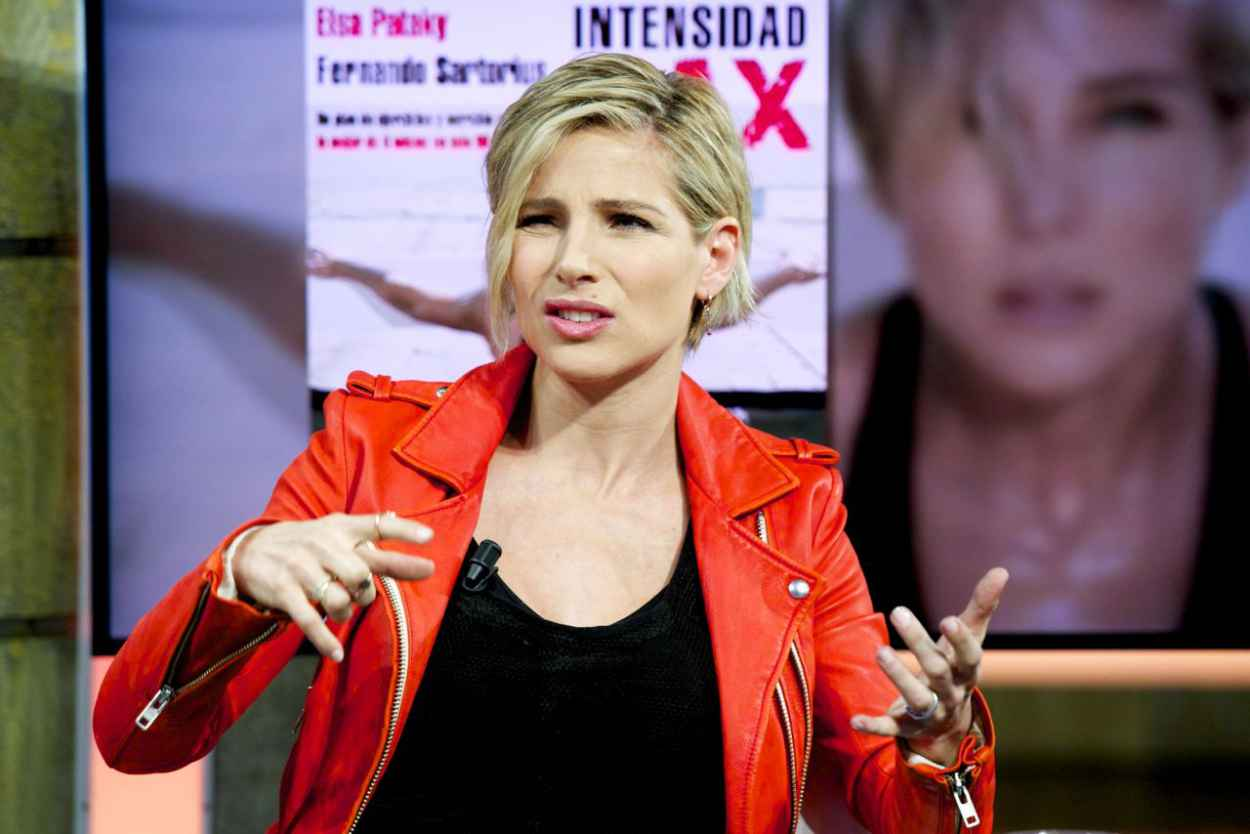 Elsa Pataky - El Hormiguero Tv Show in Madrid (Spain)-5