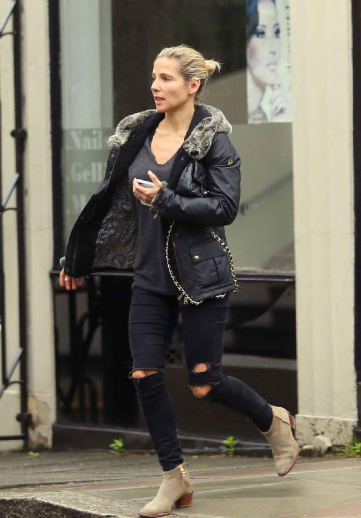 Elsa Pataky - Out in Central London, May 2015-1