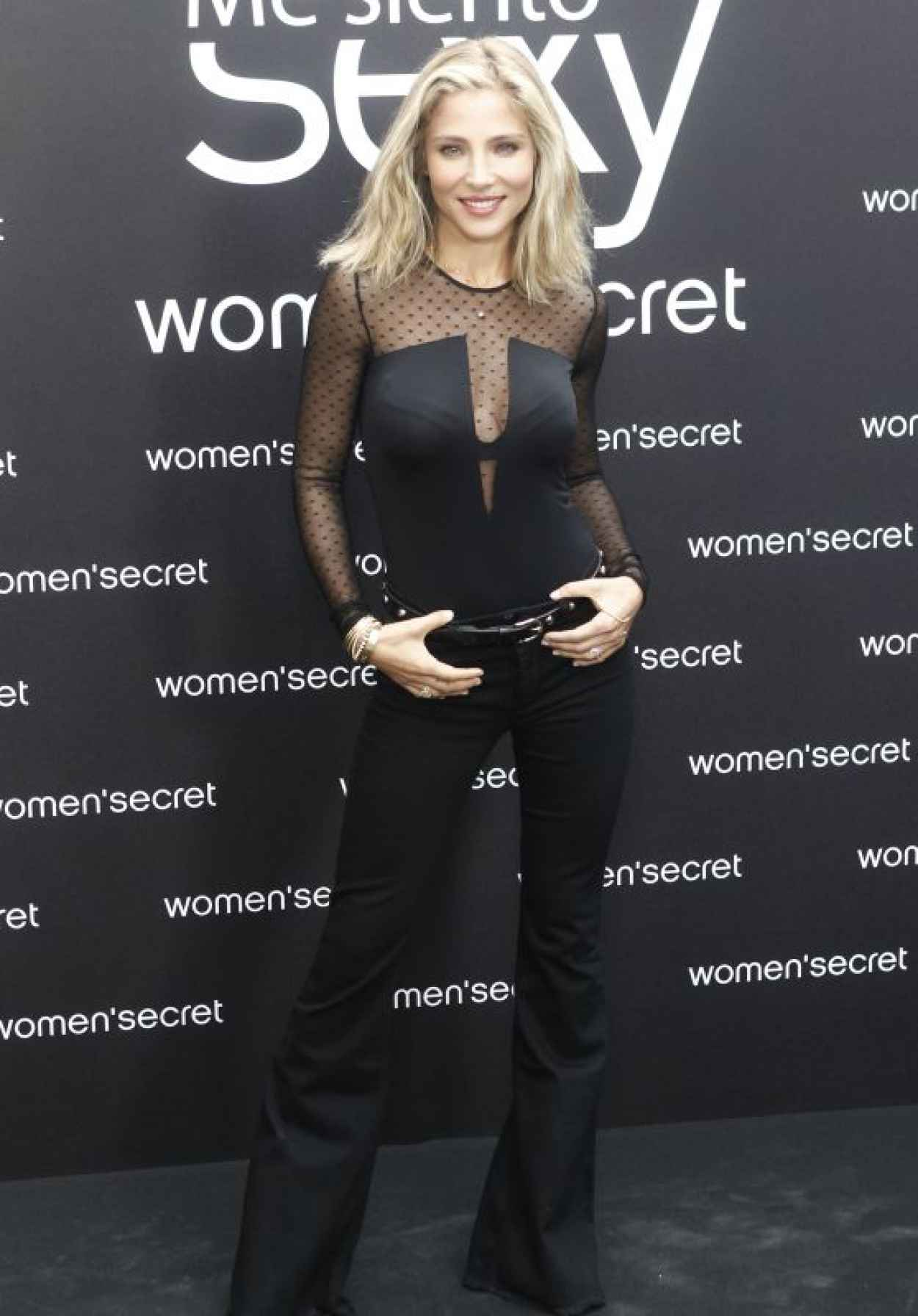 Elsa Pataky - Singer of Womens Secret Videoclip Event in Madrid-1