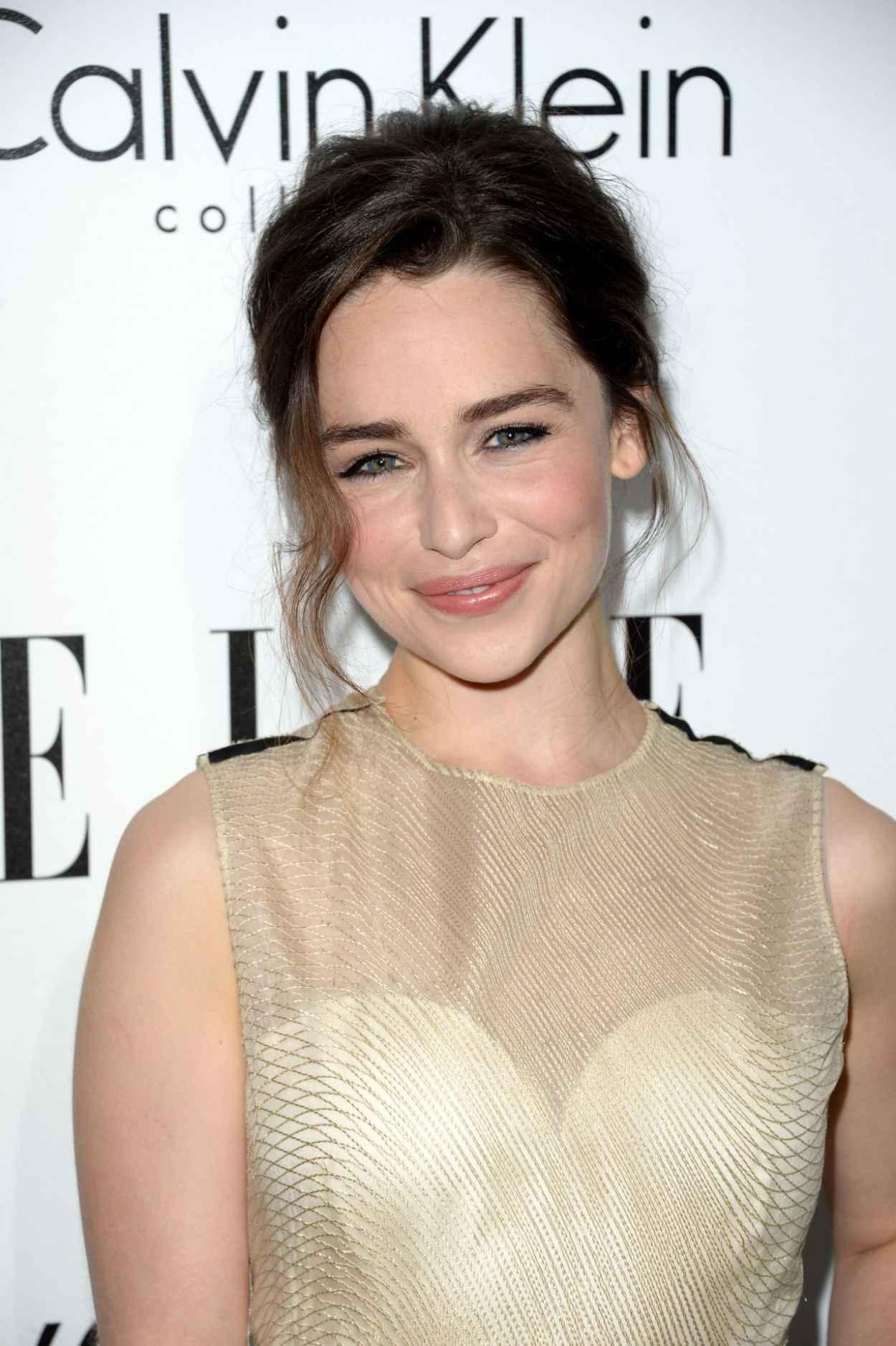 Emilia Clarke - ELLEs 20th Annual Women In Hollywood Celebration-1