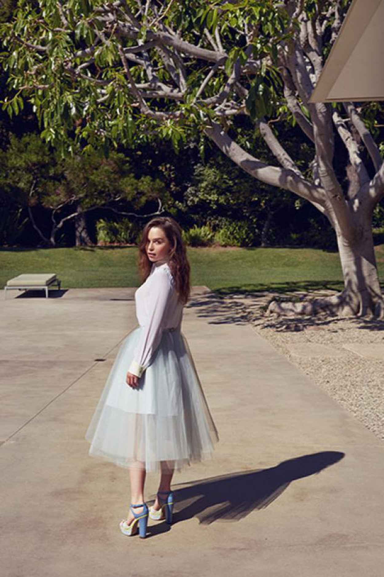 Emilia Clarke Photoshoot - The Observer - October 2015-2
