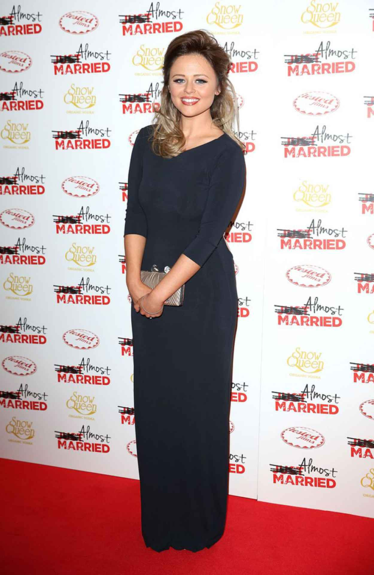 Emily Atack on Red Carpet - Almost Married Screening in London-2