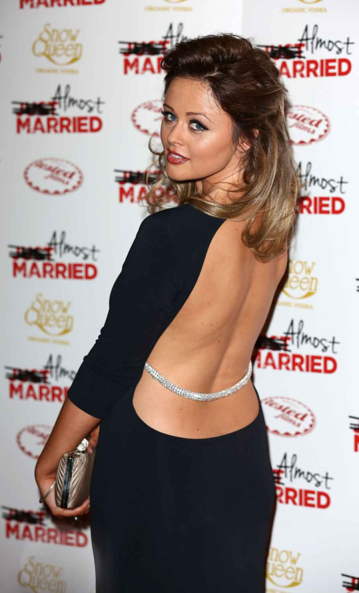 Emily Atack on Red Carpet - Almost Married Screening in London-1