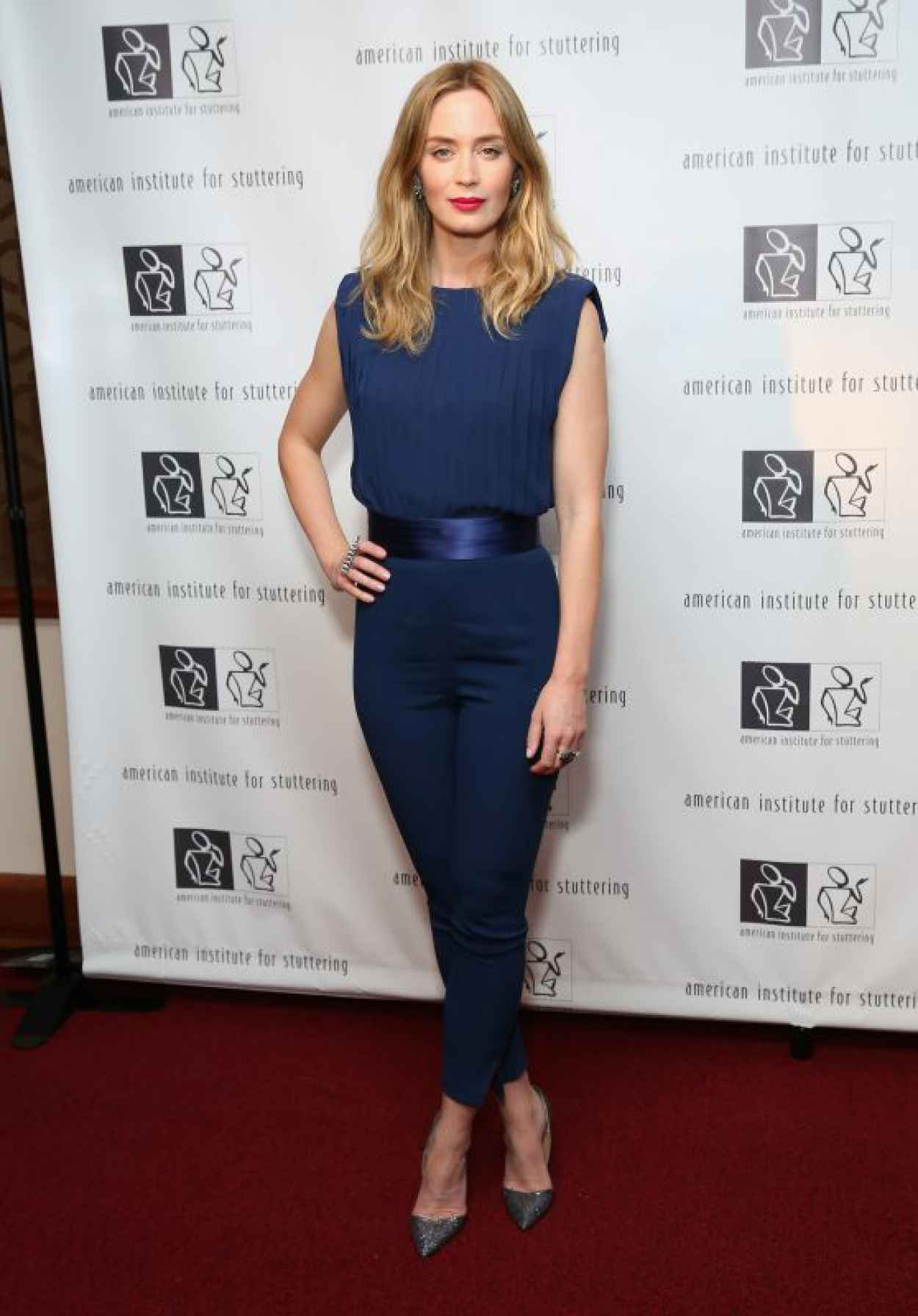 Emily Blunt - 2015 AIS Freeing Voices Changing Lives Benefit Gala in NY-1
