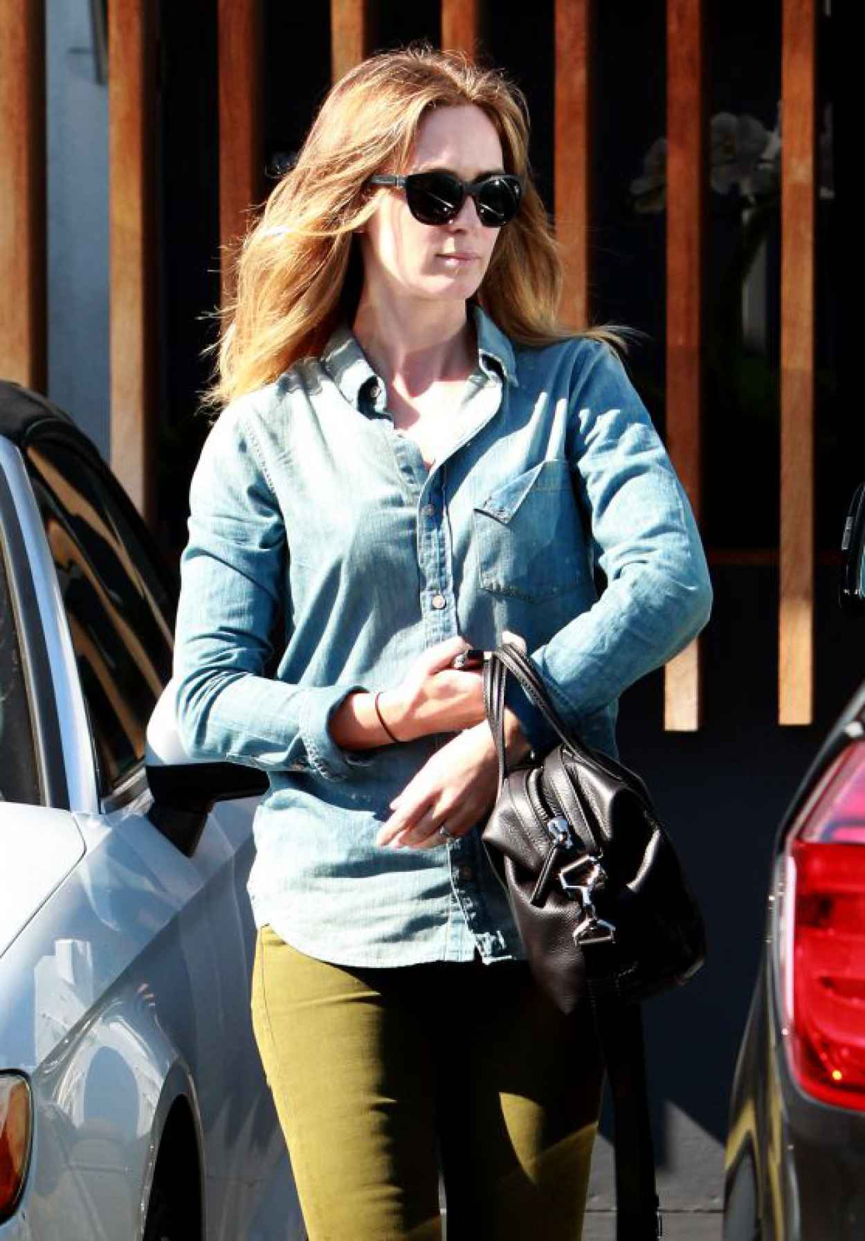Emily Blunt Going to a Salon in Beverly Hills, August 2015-1