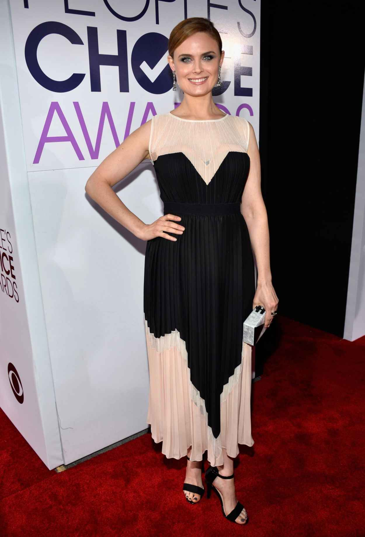 Emily Deschanel - 40th Annual Peoples Choice Awards in Los Angeles-1