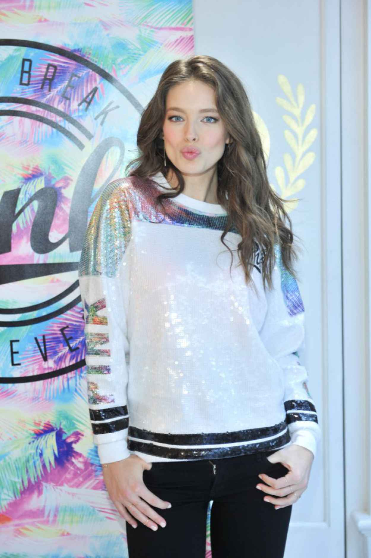 Emily Didonato - Victorias Secret PINK Limited Release Varsity Crew Launch in Buffalo-1