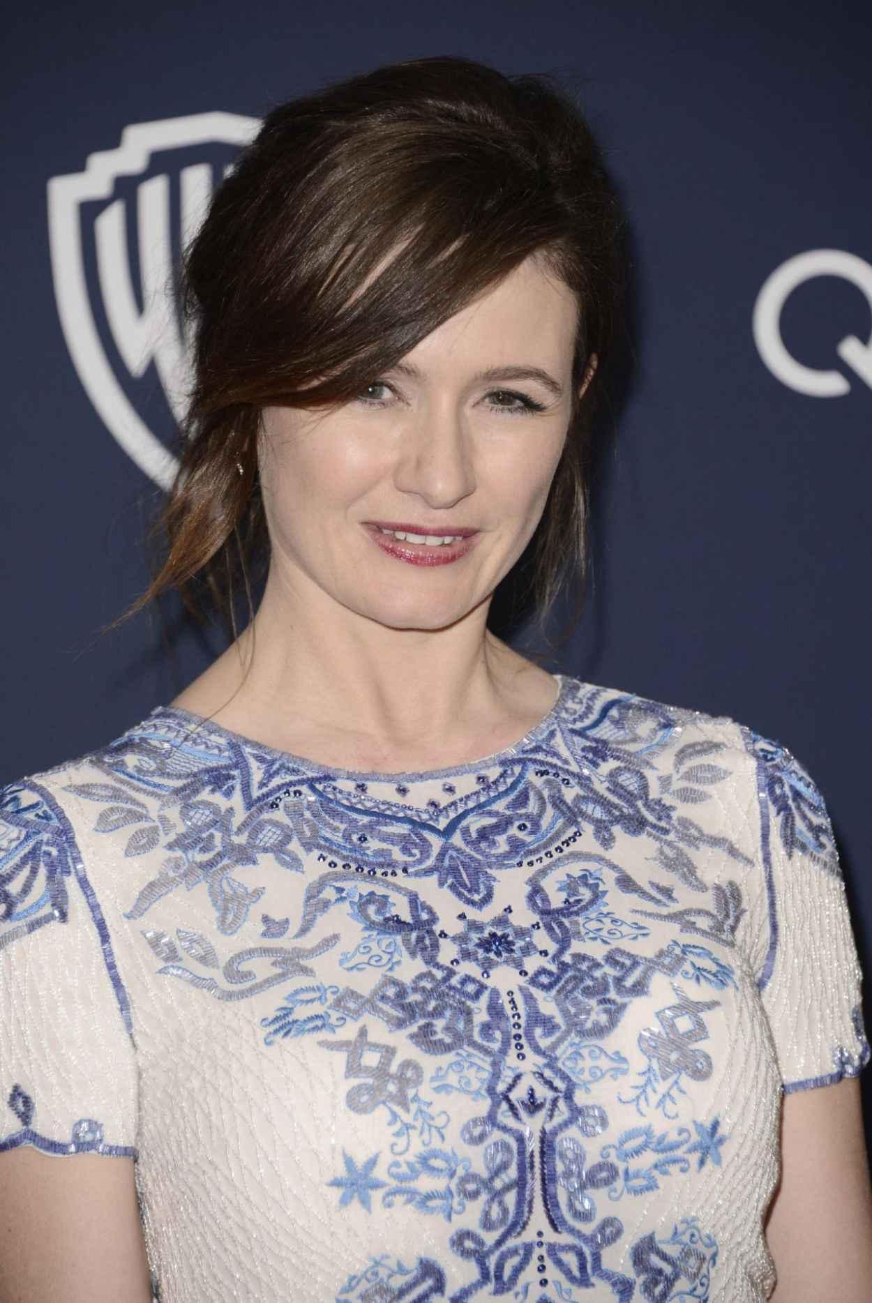 Emily Mortimer - InStyle & Warner Bros. 2015Golden Globes Party-1