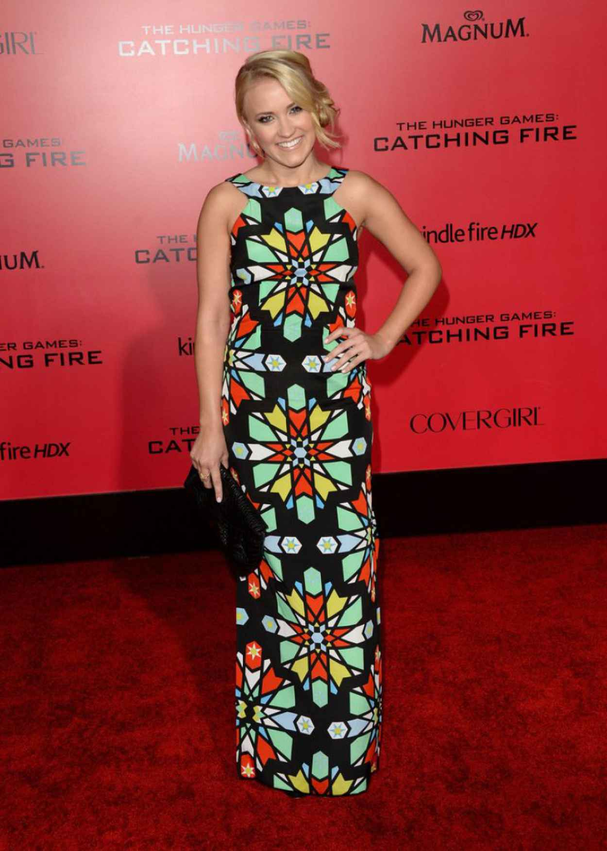 Emily Osment - THE HUNGER GAMES: CATCHING FIRE Premiere in Los Angeles-3