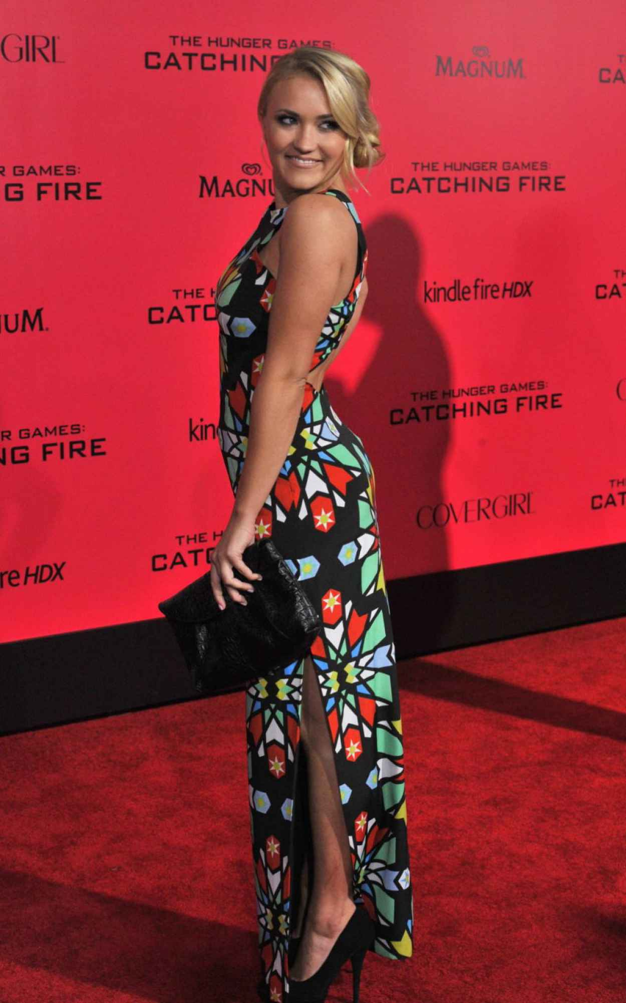 Emily Osment - THE HUNGER GAMES: CATCHING FIRE Premiere in Los Angeles-5
