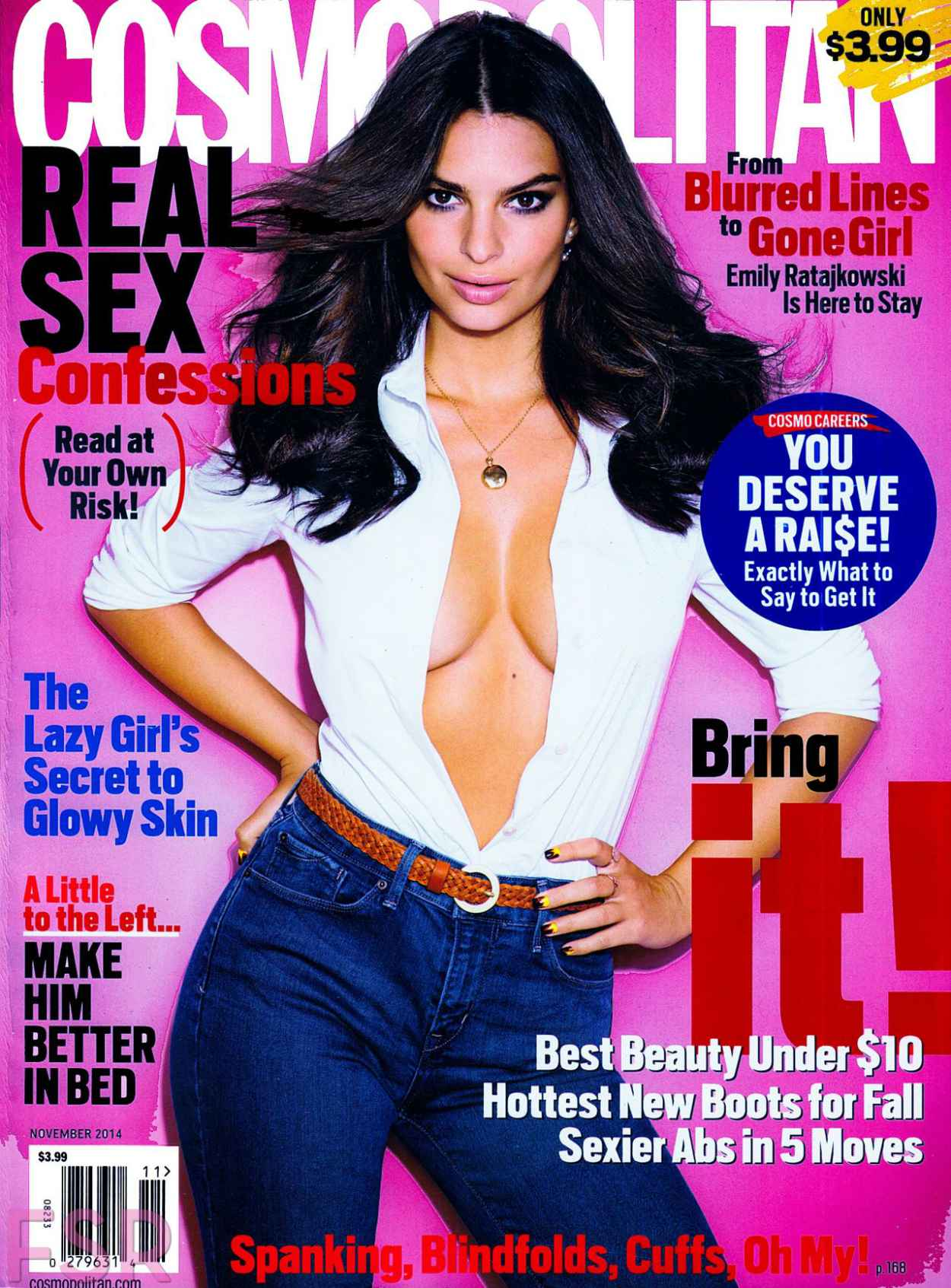 Emily Ratajkowski - Cosmopolitan Magazine (US) November 2015 Issue-1