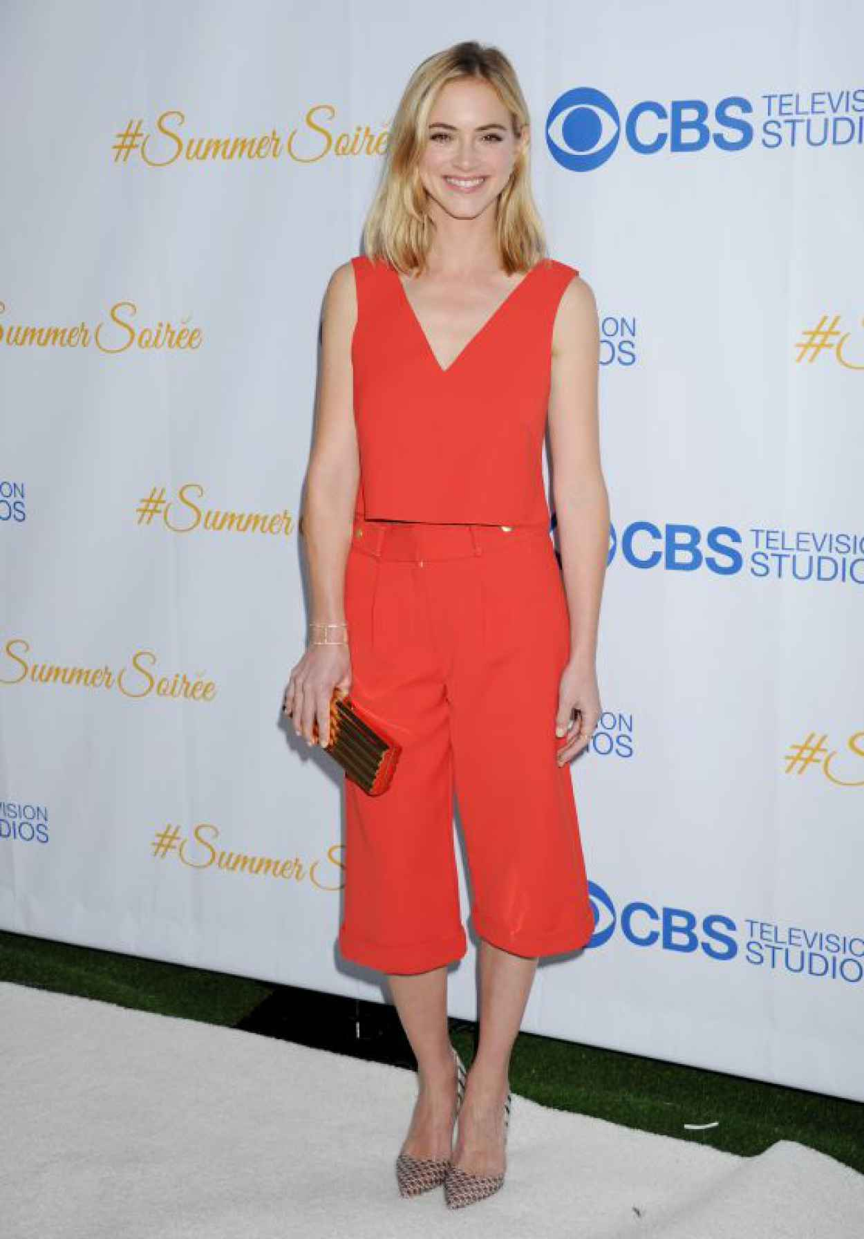 Emily Wickersham - CBS Television Studios 3rd Annual Summer Soiree in West Hollywood-1