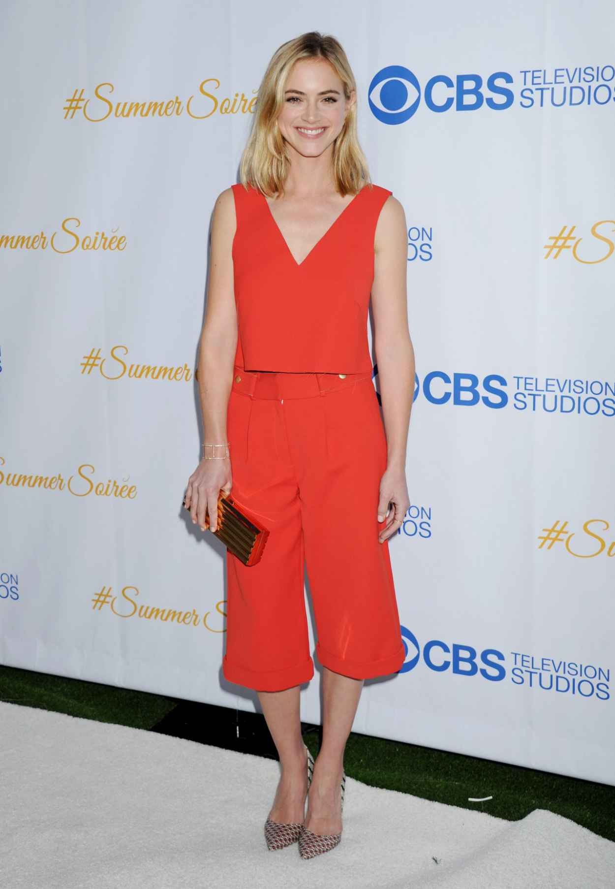 Emily Wickersham - CBS Television Studios 3rd Annual Summer Soiree in West Hollywood-5