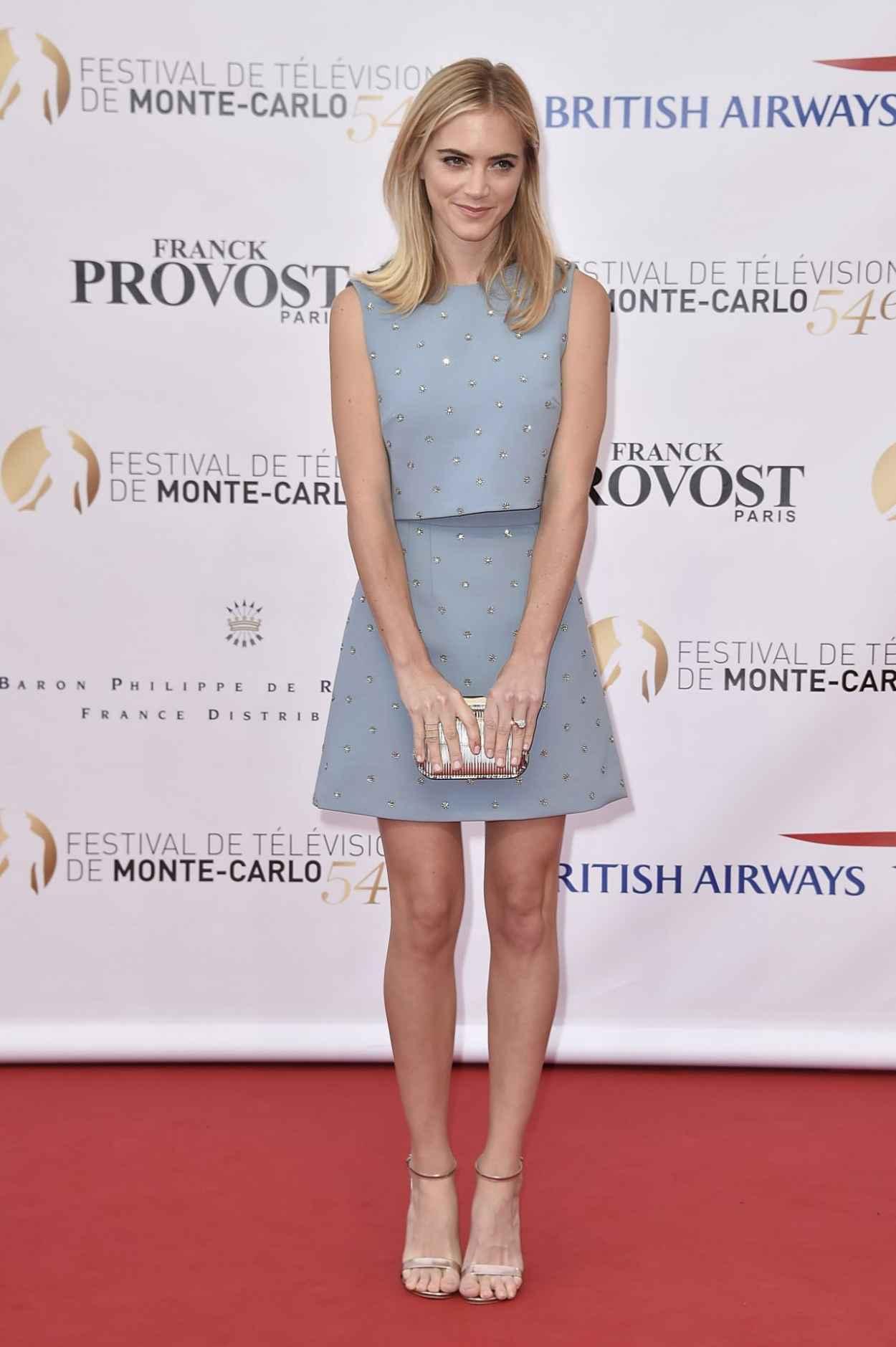 Emily Wickersham - 2014 Monte Carlo TV Festival
