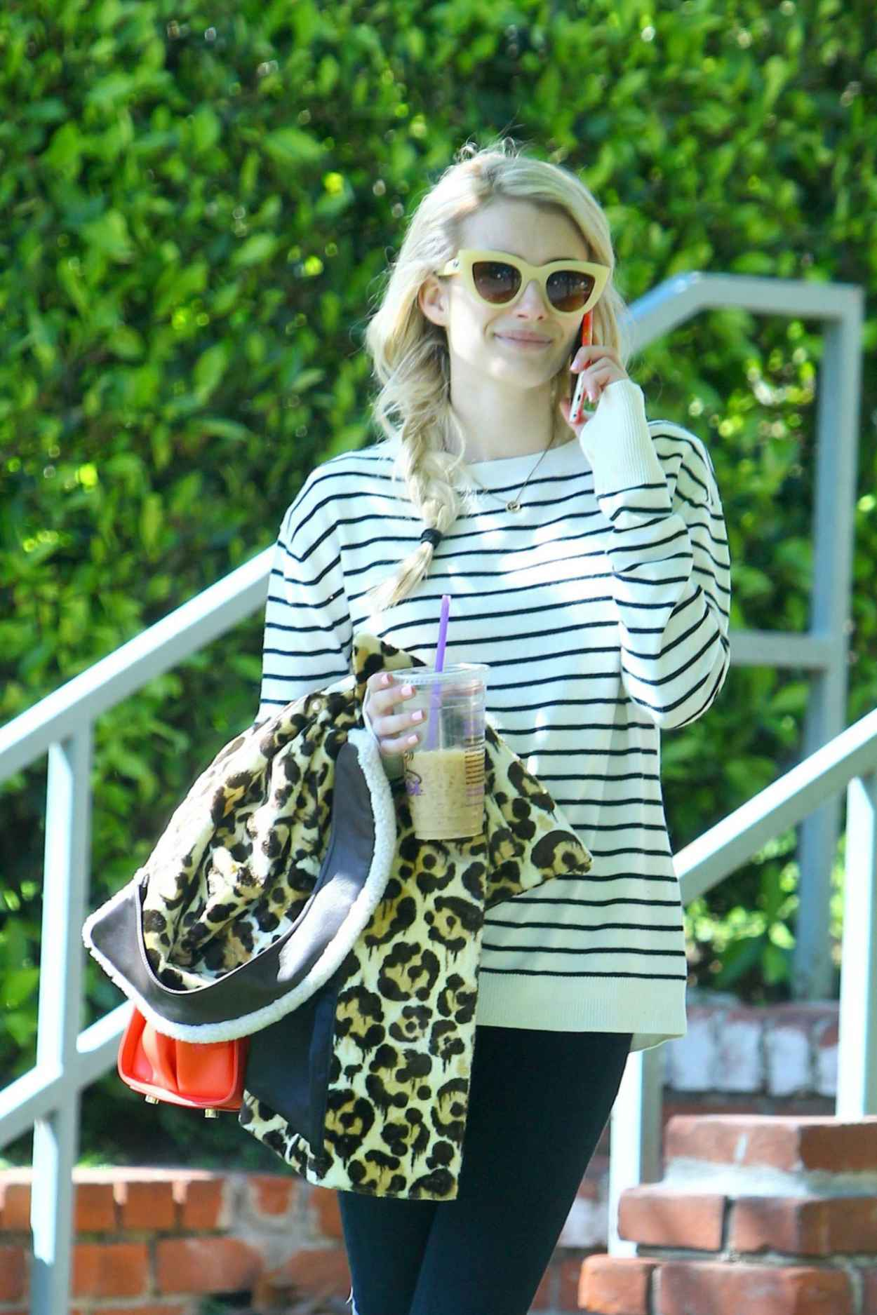 Emma Roberts Leaving Her Home In Los Angeles March 2015 Celebsla Com