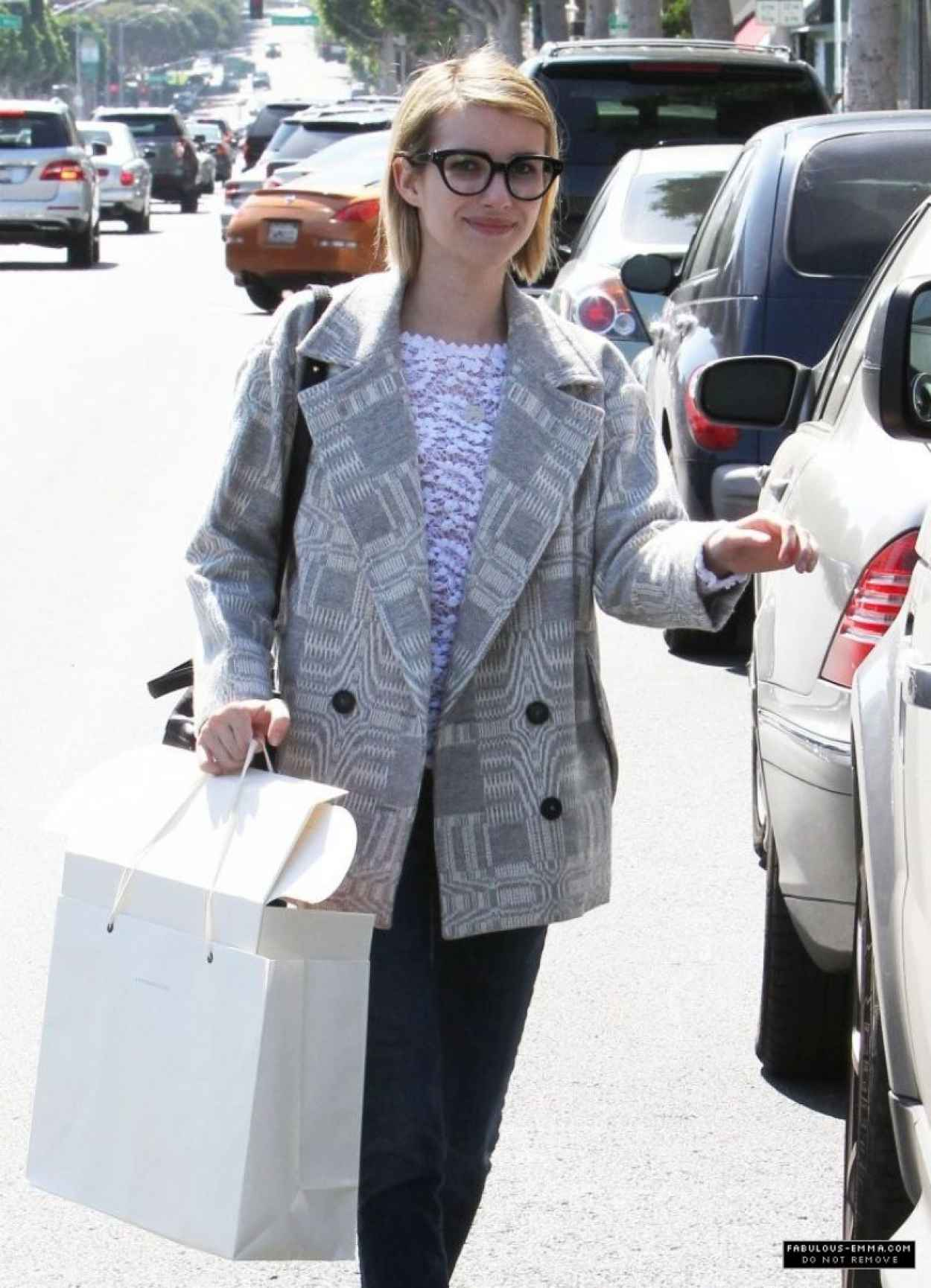 Emma Roberts Shopping in Beverly Hills - March 2015-1